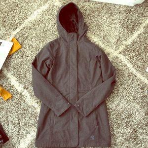 Mountain Hardwear Long Gray Jacket